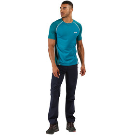 Regatta Tornell II T-Shirt Homme, olympic teal/gulfstream